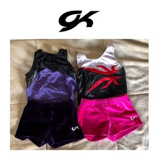 GK Other - 2 GK Leotards with matching shorts